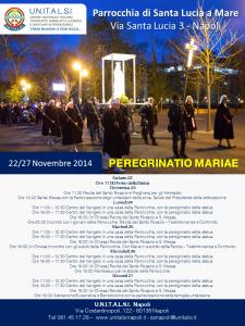 Peregrinatio Mariae 2014 Santa Lucia